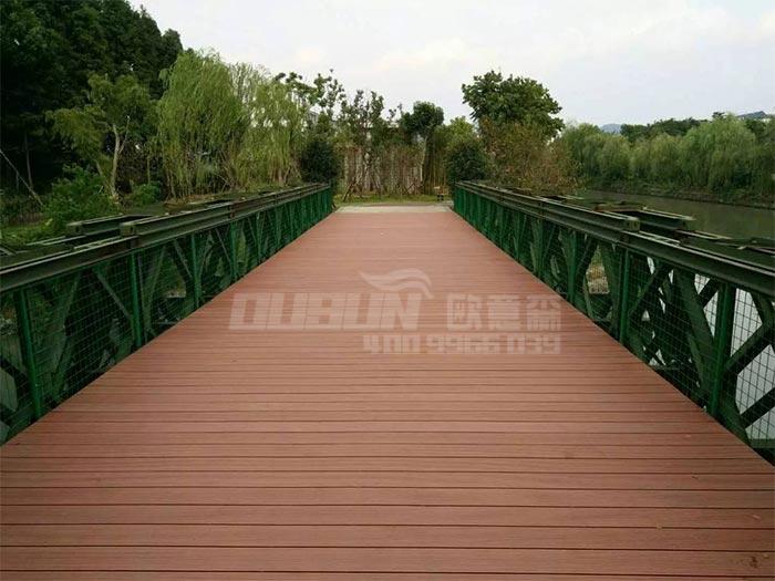 公园塑木空心地板