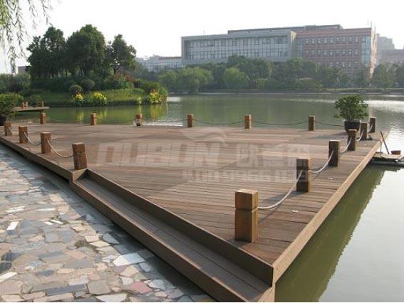 塑木板景观平台