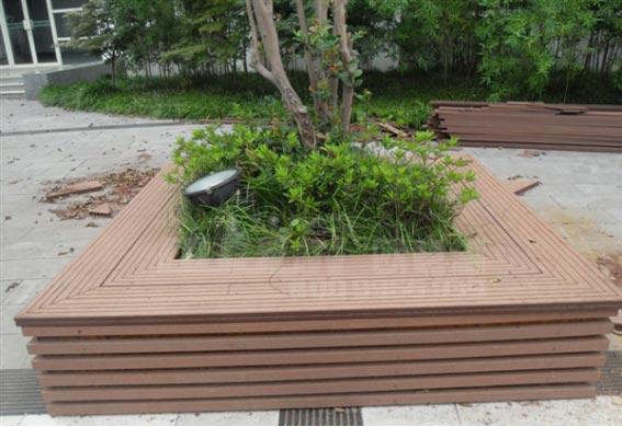 塑木树池座椅